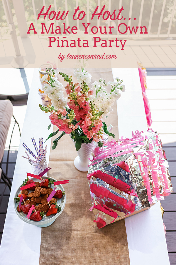 Summer Fun: How to Host a Piñata Making Party