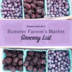 Tuesday Ten: Summer Farmer's Market Grocery List