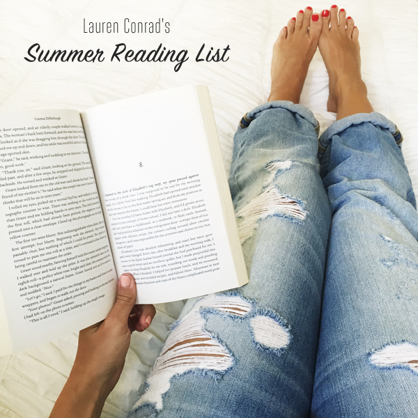 Lauren Conrad's 2015 Summer Reading List  {10 amazing titles}
