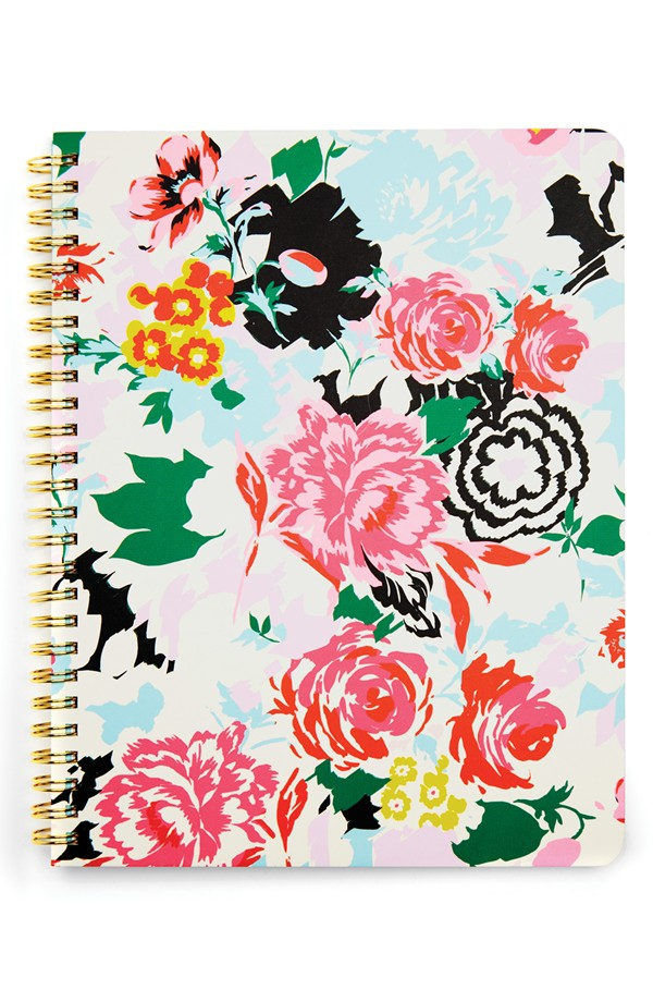 Favorite Notebook: This floral one from ban.do!