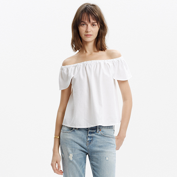 Madewell Off-The-Shoulder Top