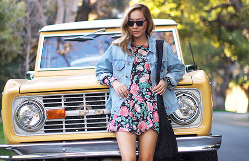 More florals please {via Dani Song}
