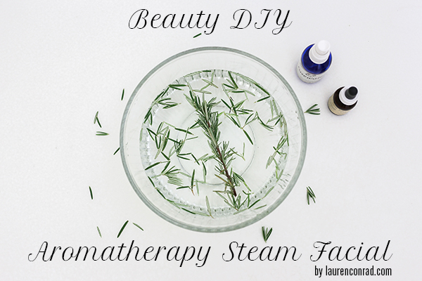 Beauty DIY: How to Give Yourself an Aromatherapy Steam Facial