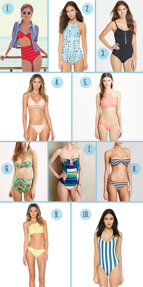 Lauren Conrad's summer swimsuit style guide!