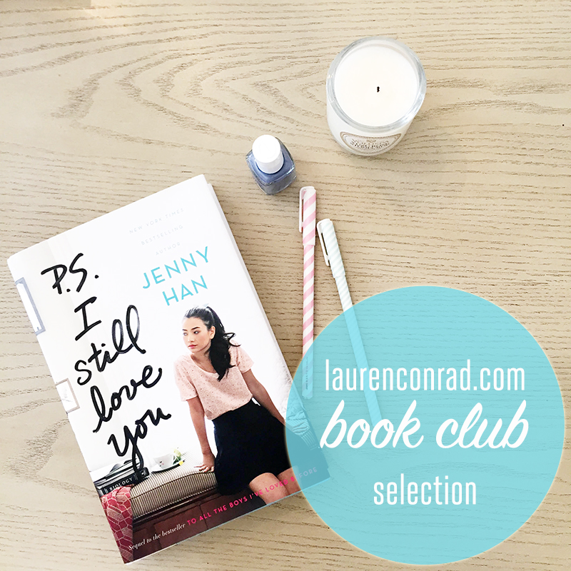 Book Club Discussion: P.S. I Still Love You by Jenny Han