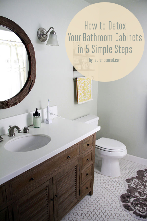 Safe Swaps: How to Detox Your Bathroom Cabinets in 5 Simple Steps