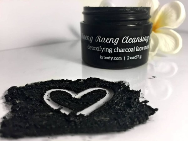 Kaeng Raeng's Detoxifying Charcoal Face Mask.