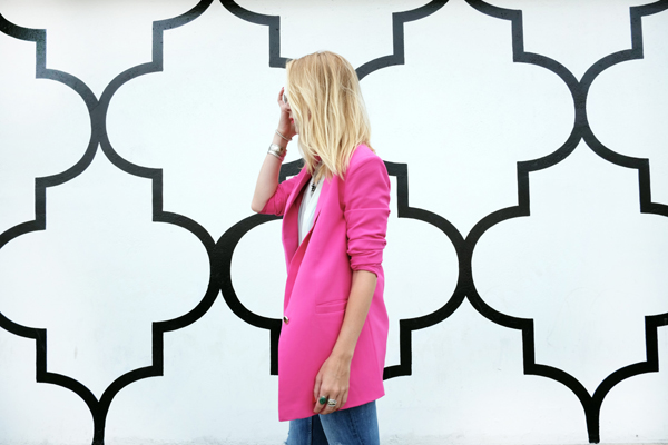 Buy something in bubblegum pink! {via Madison of Minimal Major}