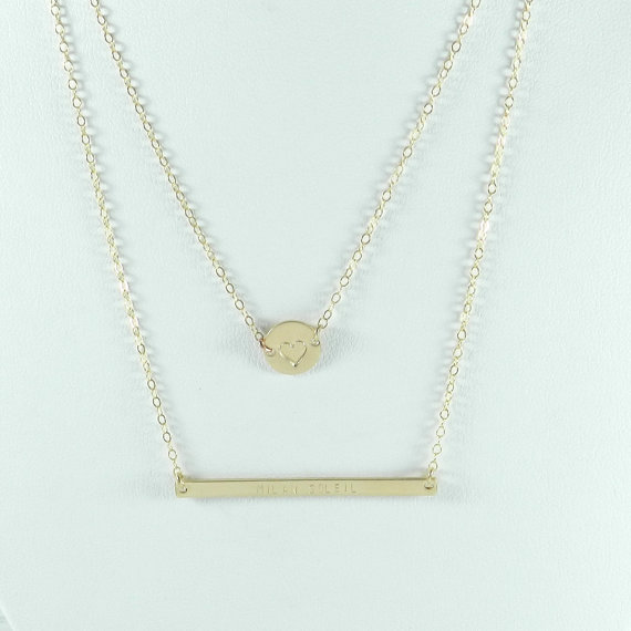 Favorite Find: This customizable layering necklace by Bip & Bop.