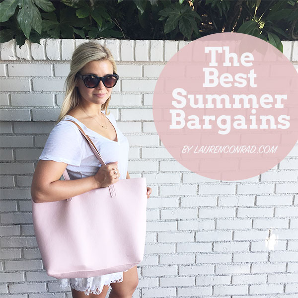 Splurge or steal? We've got the best summer bargains on the blog today!