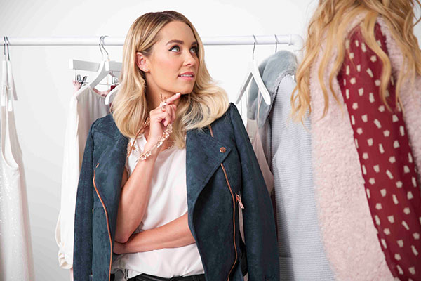 Lauren Conrad curated each individual outfit for her runway show.
