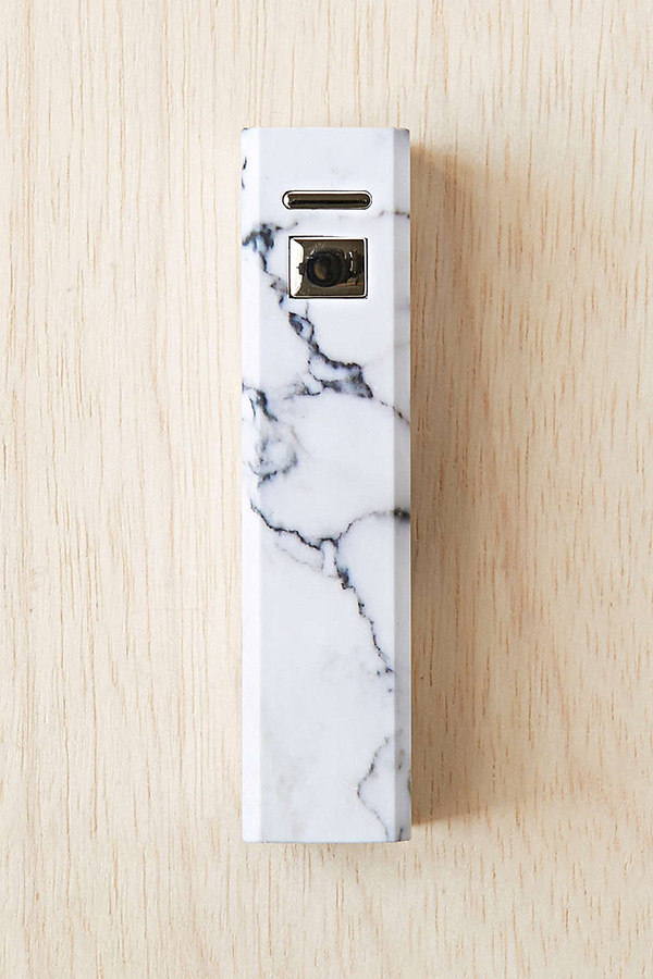 Urban Outfitters Marbled Portable Phone Charger