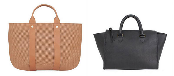 Clare V.'s top favorite handbags.