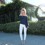 Chic of the Week: Madison's Off-The-Shoulder Outfit