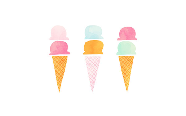 We all scream for ice cream! Desktop wallpaper on LaurenConrad.com