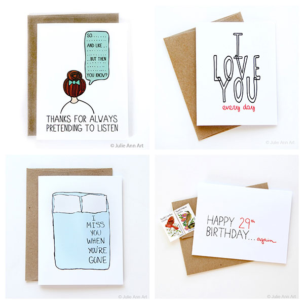 Stationery by Julie Ann Art