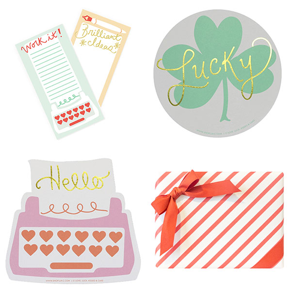 Stationery by Love. Luck. Kisses & Cake.