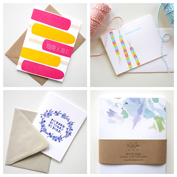 Stationery by Printerette Press
