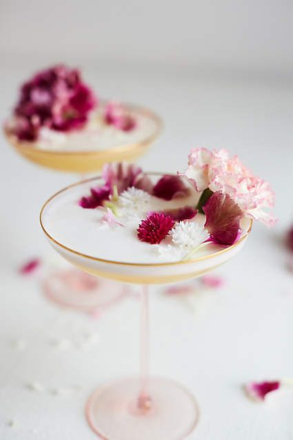 Favorite Cocktail Topper (edible flowers)