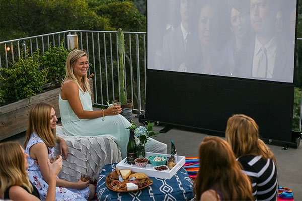 Team LaurenConrad.com's Movie Night