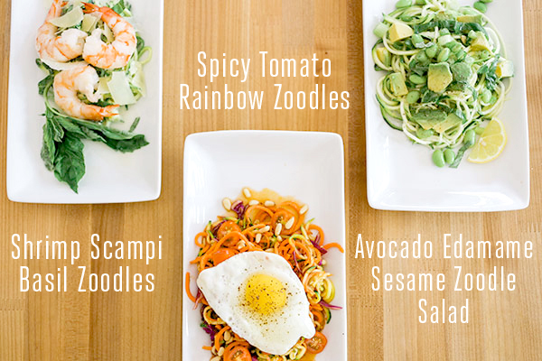 3 incredible recipes to make with your spiralizer!