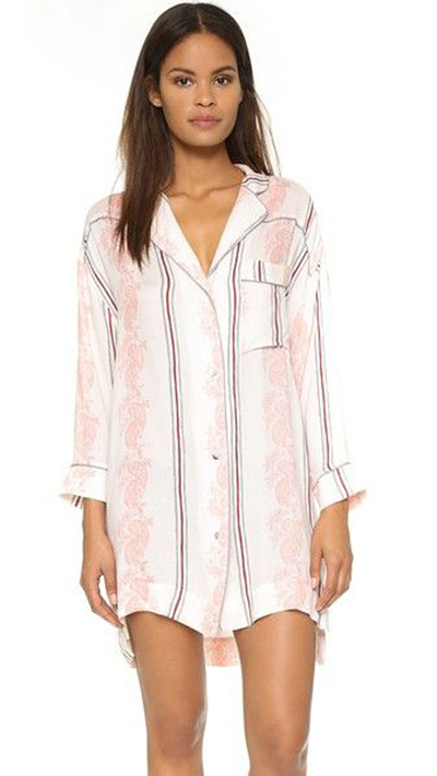 Free People Close To Me Nightshirt