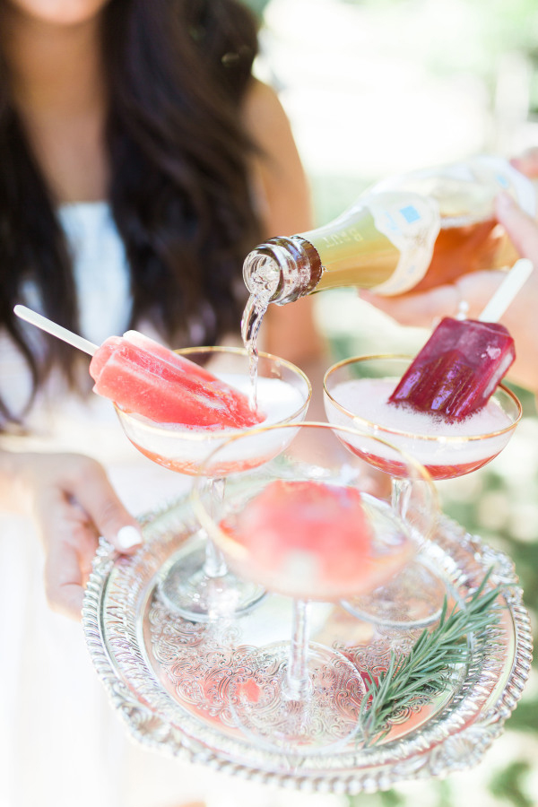 Favorite Inspired Idea (popsicle cocktails via Style Me Pretty)