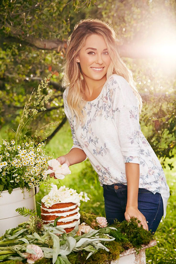 Lauren Conrad in an LC Lauren Conrad blouse.