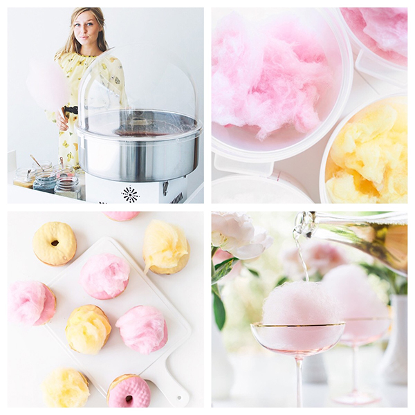 Chloë is the cotton candy queen, and brings an all-organic twist to our favorite dessert. | @BonPuf