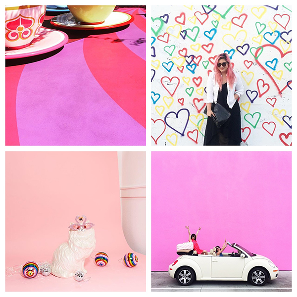 Think colorful, quirky and a whole lot of fun for this Instagram account. | @ChristinaWinkelmann