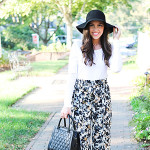 Chic of the Week: Shelby's Printed Pants