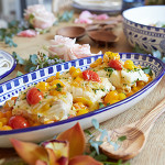 Recipe Box: Slow Roasted Halibut with Cherry Tomatoes and Shallots