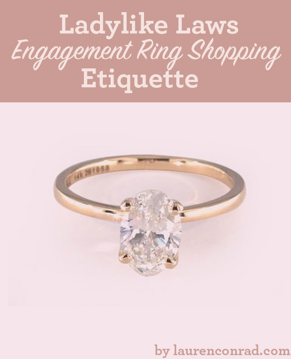 To celebrate National Proposal Day, we've rounded up our best tips on engagement ring shopping etiquette…