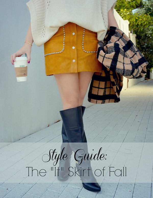 "Style Guide: The ""It"" Skirt for Fall"