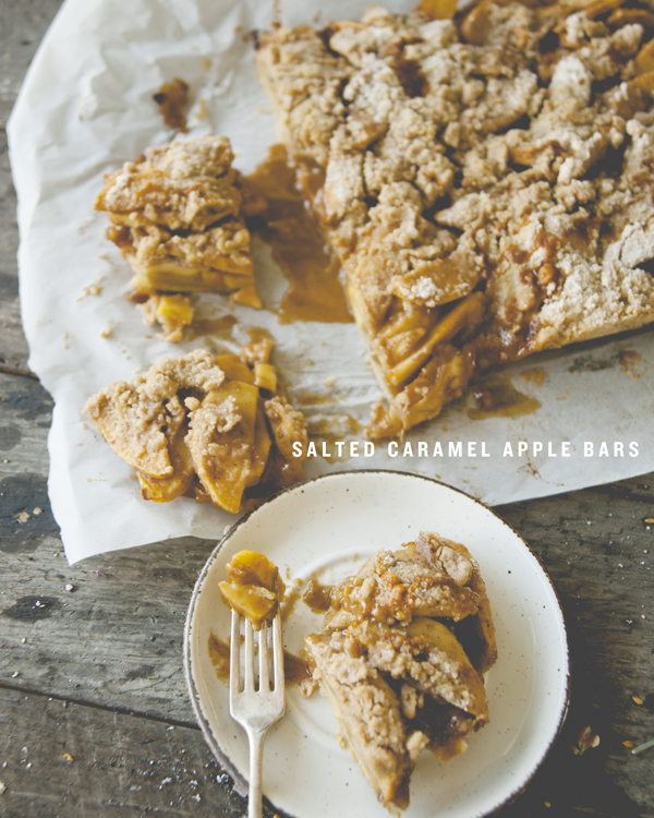Recipe Box: Salted Caramel Apple Bars