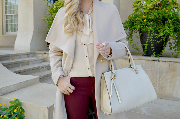 A neutral, wear-with-everything coat that doesn't sacrifice on style.