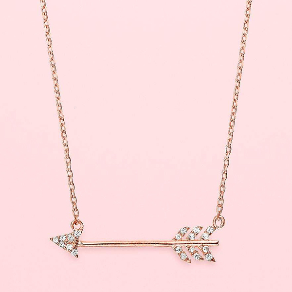 Favorite Everyday Accessory (this Arrow Necklace from my LC Runway Collection)