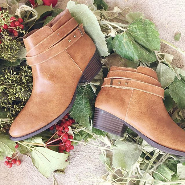 Favorite Fall Booties (this cognac pair from my LC Lauren Conrad line)