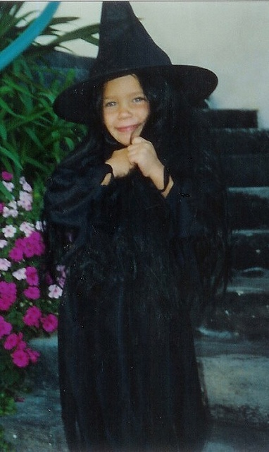 Guess who this little witch is!