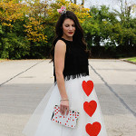 Halloween DIY: Haley's Queen of Hearts Costume