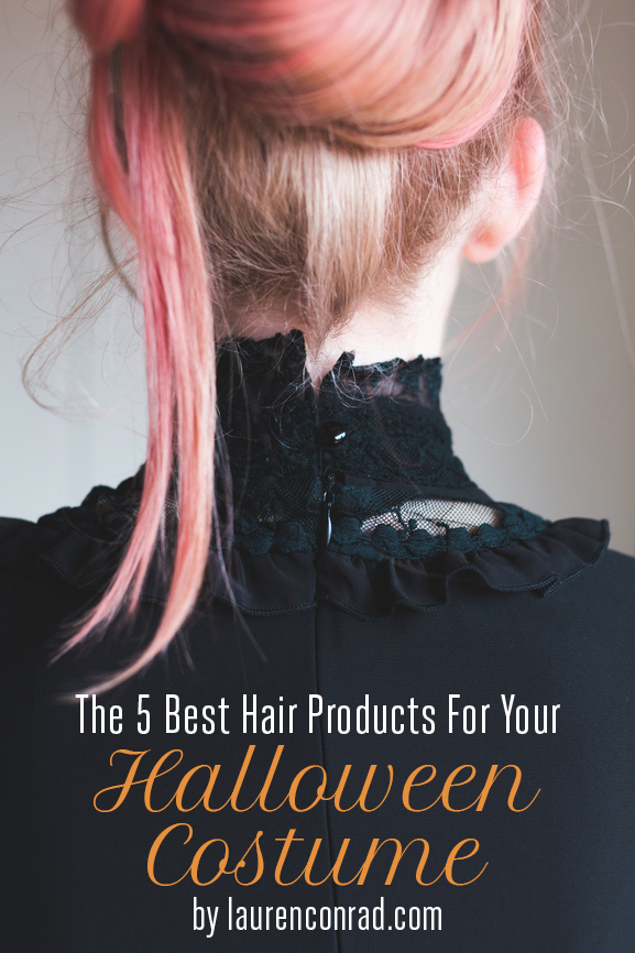 Primp Tip: The 5 Best Hair Products for Your Halloween Costume