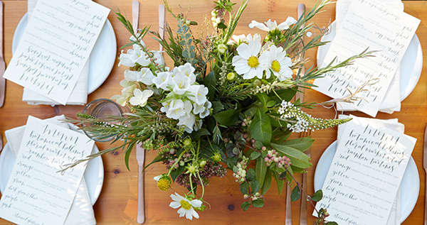 An enchanting afternoon filled with delicious treats and a gorgeous tablescape.
