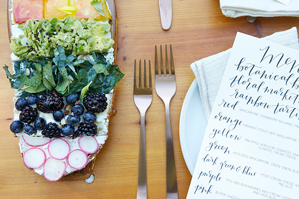 From the dinnerware to the desserts, this luncheon was perfect.
