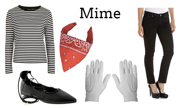 Last Minute Costume Ideas Mime | LaurenConrad.com  sc 1 st  Lauren Conrad : mime costume ideas  - Germanpascual.Com