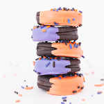 Tricks & Treats: Halloween Macarons & Spooky Sprinkled Oreos