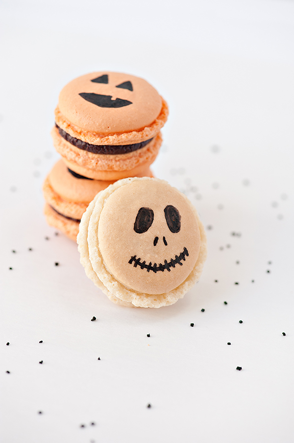 Macarons that are too cute to spook