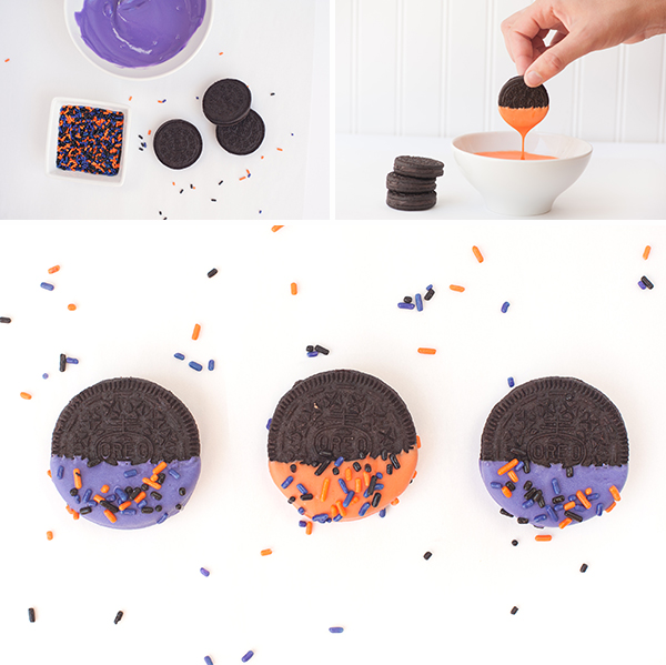 How to make Spooky Sprinkled Oreos