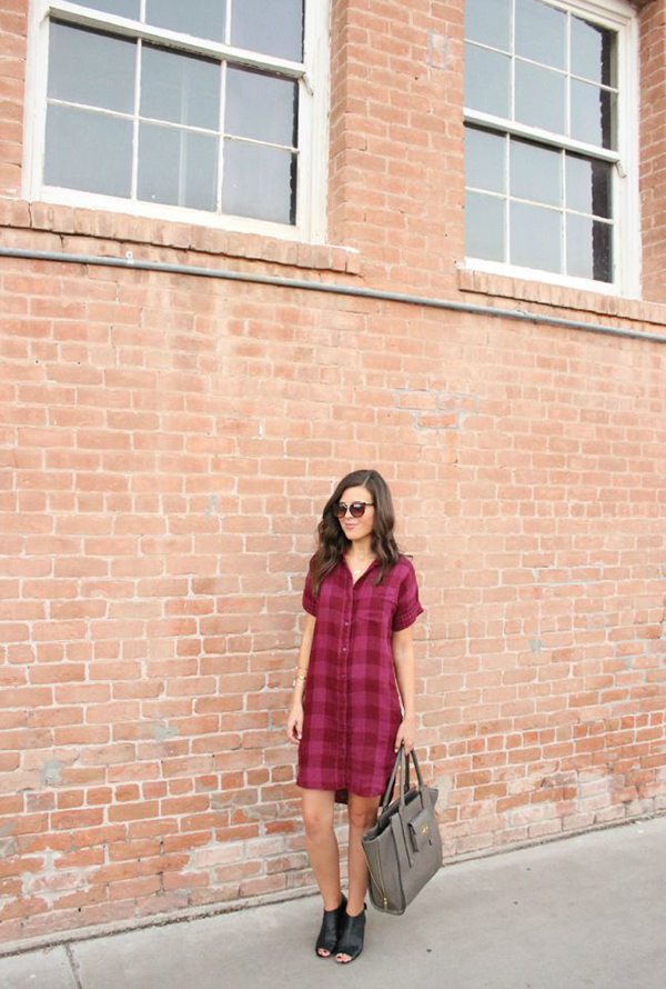 Mad about plaid {via Sophistifunk}