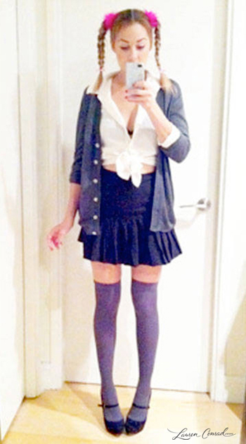 Lauren Conrad's Britney Spears Costume