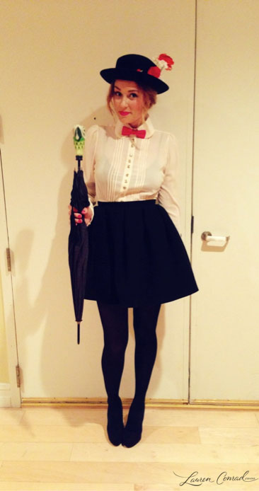 Lauren Conrad's Mary Poppins Costume